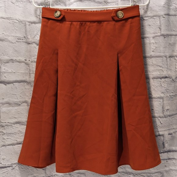 Like-new rust skirt from Modcloth